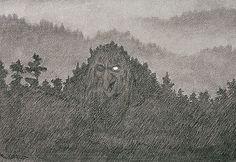 monstre de la forêt