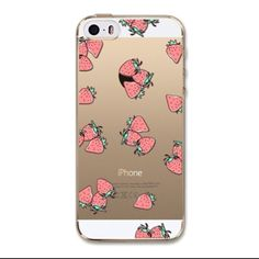 Love Strawberry Fruit Phone Case Cover Iphone This is for Iphone 6 Plus and 6s Plus (Not Iphone 6 or 6s). Soft Silicon Clear Case Cover with Lovely Print. Brand new. High Quality. Easy access to all buttons, controls and ports without having to remove the bumper. Fashion design, easy to put on and easy to take off. No trade. Feel free to browse my closet. Accessories Phone Cases