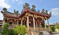 クー・コンシー 中国の福建省からきた丘氏一族が設立した中国寺院である。ジョージ・タウン (George Town) は、マレーシアのペナン州の州都であるペナン島市の中心部の地区である。