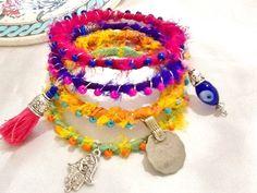 Gypsy bangles , bohemian gypsy bangles , wire wrapped boho bracelets , indie bracelets , gypsy KUCHI bangles , ethnic tribal bracelets by Nezihe1 on Etsy
