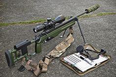 "Sako TRG-22 folding stock. 20"" 1:11"" twist barrel. Hensoldt 4-16x56mm HN-1 reticle. Spuhr mount. SAS Arbiter TOMB brake and suppressor. KRG catch. | Flickr - Photo Sharing!"