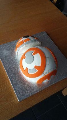 My BB8 cake