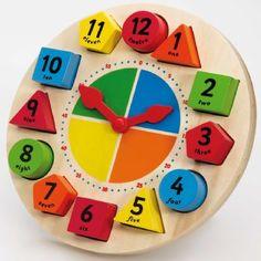 Lær Klokken - Tidlo klokke 864 Shop - Eurotoys - Leker online