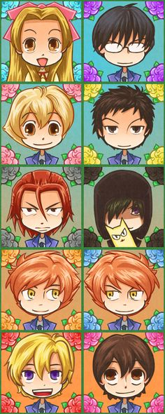 High School Host Club Ryoji | Ouran High School Host Club Ouran Chibis! X3