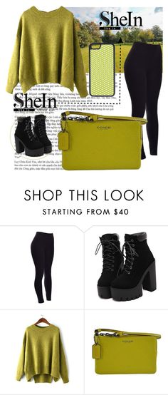 """Bez naslova #76"" by amilasahbazovic ❤ liked on Polyvore featuring Coach and CellPowerCases"