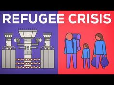 The European Refugee Crisis and Syria Explained. This video is a basic explanation of the crisis and some of the political reactions happening in Europe at the time. It explains why so many asylum seekers came to Europe. Human Geography, Ap World History, Refugee Crisis, Refugee Camps, Syrian Refugees, Help Refugees, Science, In A Nutshell, Why People