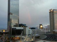 Las Vegas #rainbow