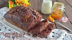 Plumcake light allo yogurt con cacao e marmellata light di arance e zenzero (96 calorie a fetta) | Le ricette super light di Giovi
