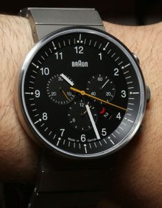 "livingby: "" Braun Black Watch """