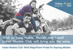 Indian Model Club organize Fashion Show in July 2014. New face Model also Register for fashion Show in Delhi, Mumbai and Goa (3 Indian Big City). Most Magnificent Modelling Portal in India which Indian Model Club. Our aim wish to have name, Money and fame, Indian Models Club will bring you the same. register to become a model and participate in fashion show.http://indianmodelsclub.com
