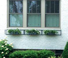 Mesh window boxes, made to measure by Garden Requisites, near Bath UK, shipped worldwide Metal Window Boxes, Dwarf Shrubs, Bath Uk, Iron Windows, How To Lean Out, Seasonal Flowers, Growing Flowers, Box Design, Planter Pots