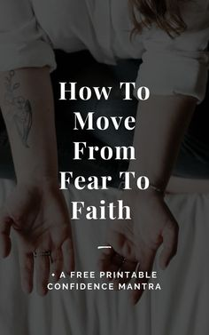 Moving from fear to faith. In this video I am sharing a simple shift that can help relieve your anxiety, stop worry, and give you the resolve to take action towards your calling! Confidence Course, Confidence Coaching, Confidence Boosters, Confidence Tips, Confidence Quotes, Confidence Building Exercises, Self Acceptance, Low Self Esteem, Self Improvement Tips