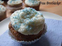 Frau Brotbäcker: Kokos-Cupcakes