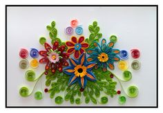 Quilling • květy