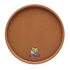 LSU Tigers Basketball Serving Tray, Multicolor