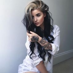 Inspiring Pastel Hair Color Ideas – My hair and beauty Best Ombre Hair, Ombre Hair Color, Creative Hair Color, Medium Hair Styles, Long Hair Styles, Hair Tuck, Hot Hair Colors, Pinterest Hair, Pastel Hair