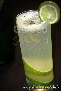 Receita de Limonada Gaseificada