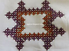 Art & Needlework: Kutch Ratha Design Part 2 (filling)  kutch work tutorial