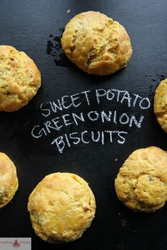Sweet Potato and Green Onion Biscuits by Heather Christo, via Flickr