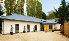 Modern Single Storey Home - Homebuilding & Renovating - House , Modern Bungalow Exterior, Modern Farmhouse Exterior, Cottage Exterior, Modern Bungalow House Plans, Dormer Bungalow, Bungalow Ideas, Bungalow Haus Design, Modern House Design, Bungalows