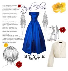 """""""Royal Blues"""" by lottiedottie7435 ❤ liked on Polyvore featuring Gucci, Humble Chic, Haider Ackermann and Giuseppe Zanotti"""