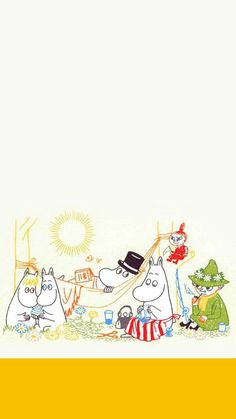 Iphone Background Wallpaper, Iphone Wallpaper, Little My Moomin, Moomin Wallpaper, Moomin Valley, Tove Jansson, Old Cartoons, Cute Cartoon, Cute Wallpapers