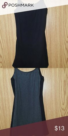2 Long & Lean Tank Tops 1 Black Tank Top 1 Grey Tank Top  Excellent condition  Size Small Ambiance Apparel Tops Tank Tops