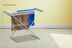 Heated Clothes Airer - 2 Sizes