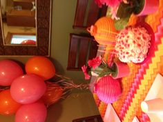 Pink & Orange birthday party