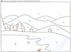 Great layout for a Christmas landscape quilt Applique Templates, Applique Patterns, Applique Quilts, Quilt Patterns, Small Quilts, Mini Quilts, Landscape Art Quilts, Fabric Postcards, Paper Piecing Patterns