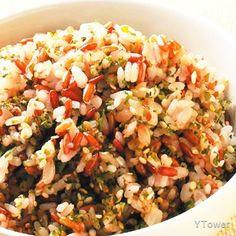 海苔芝麻飯食譜 - 種子核果類料理 - 楊桃美食網 專業食譜