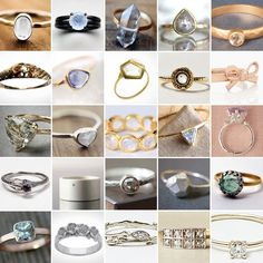25 Unconventional   Affordable Engagement Rings via Brit   Co