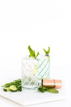 Cucumber Mint Cooler Recipe & Free DIY Workshop! | Sugar & Cloth | Bloglovin'
