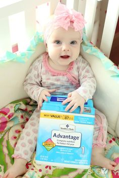 Infant nutrition and parenting. Why I supplement my breastfeeding child with Member's Mark Advantage Infant Formula. Check out the benefits on howdoesshe.com. MembersMarkAdvantage, AD.