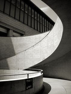 Hyogo Prefectural Museum of Art designed by Tadao ANDO, Japan