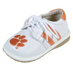 Clemson baby boy shoes I will have to buy these one day for a future grand