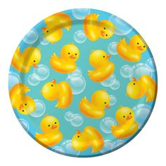 Baby Shower Bubble Bath 7in Paper Plates