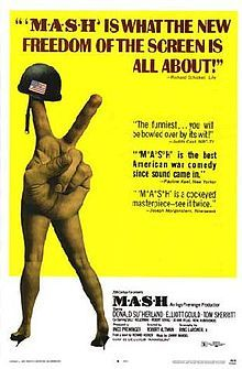 MASH was nominated for best picture and best supporting actress (Sally Kellerman) in 1970 and won the Golden Globe for best picture-musical or comedy