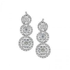 ORB 725 Oro 750 ‰ . Diamanti P.Ct. 80 Col. G Purezza SI #CometeGioielli   Gioielli Sposa Collezione Lumiere