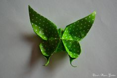 Clara's Paper Garden: Tutorial - fluturas ...advanced origami butterfly
