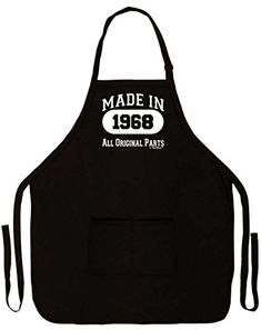 BIRTHDAY Gift Idea Cooks Apron MADE IN 1969 All Original Parts Excellent Gift