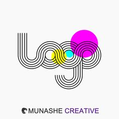 Curve-linear logo by #MunasheCreative