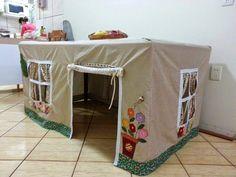 Домик для детей под столом