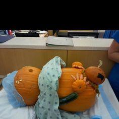 For my L&D friends.... Pumpkin carving idea!