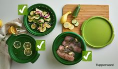 Steam Cooking 101 plus valuable Tupperware® SmartSteamer Tips • Cooking vegetables with steam retains their optimal texture and nutritional content. • Steaming is a great solution for health conscious...