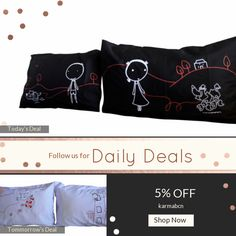 Today Only! 5% OFF this item.  Follow us on Pinterest to be the first to see our exciting Daily Deals. Today's Product: ON SALE - 1N- Twin Souls . Bed Pillow Cases / Covers Buy now: https://www.etsy.com/listing/467622321?utm_source=Pinterest&utm_medium=Orangetwig_Marketing&utm_campaign=christmans   #etsy #etsyseller #etsyshop #etsylove #etsyfinds #etsygifts #pillowcases #pillowcovers #originalgift #photooftheday #instacool #onlineshopping #musthave #instashop #instafollow #shopping…