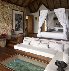 Perfect seclusion at the Song Saa Private Island, Cambodja