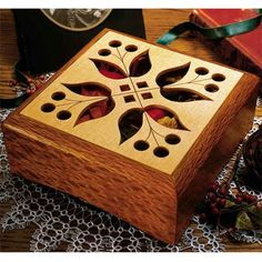 Potpourri Box Woodworking Plan