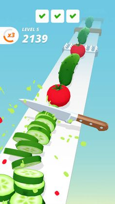 Chop like a real master. - Easy control - Addictive gameplay - Simple and fun Ar Game, Game Icon, Game Ui, 3d Mobile, Mobile Game, Game Design, Web Design, Calendar Design, Best Games
