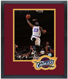 LeBron James Cleveland Cavaliers 2015 NBA All-Star Game Action